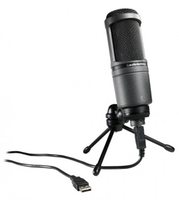 Audio-Technica AT2020 USB Cardioid Condenser Microphone